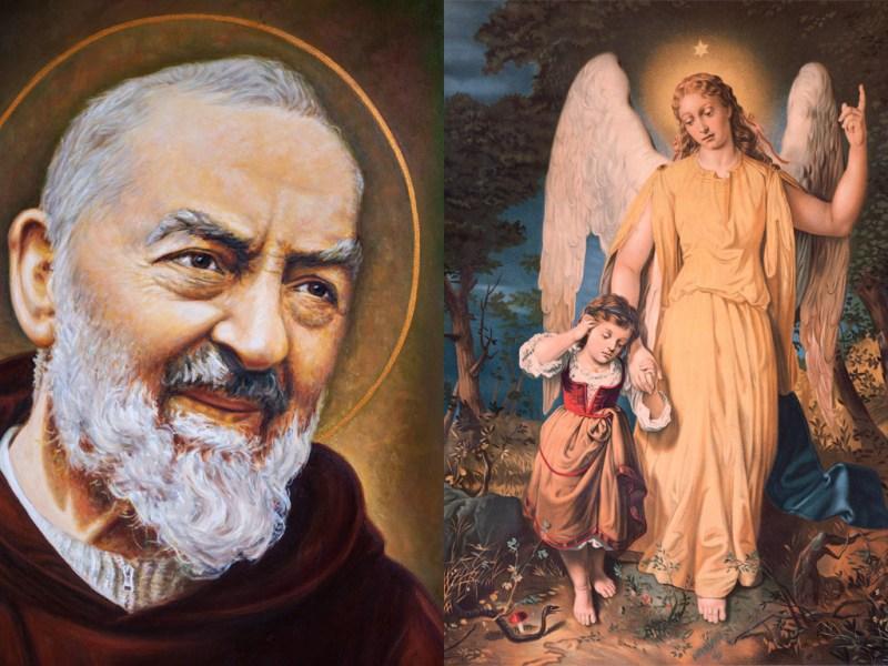 Oración de protección al Ángel de la Guarda por San Padre Pío