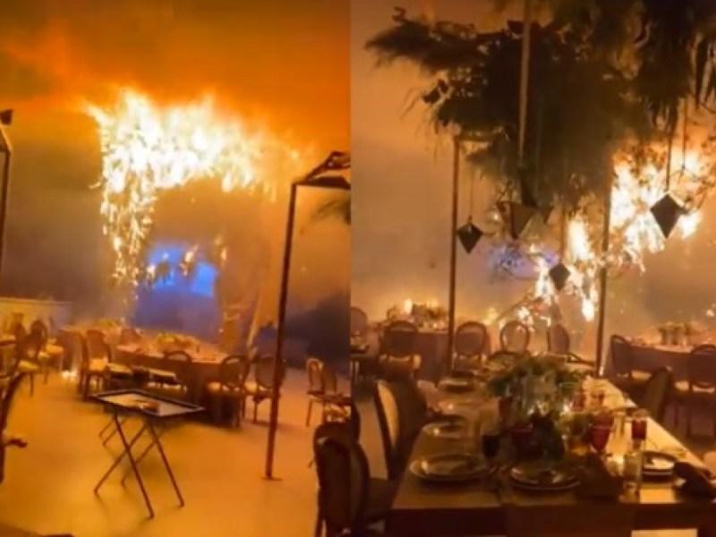 boda-incendio-pirotecnia-salón