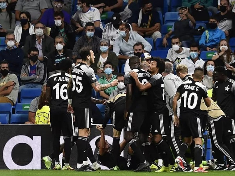 sheriff Real Madrid Champions LEague