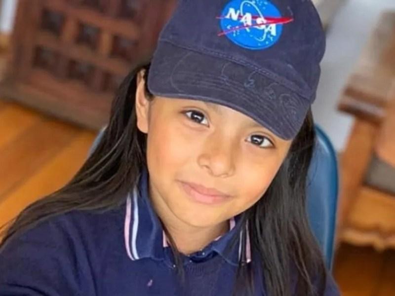 Adhara Pérez niña genio Albert Einstein