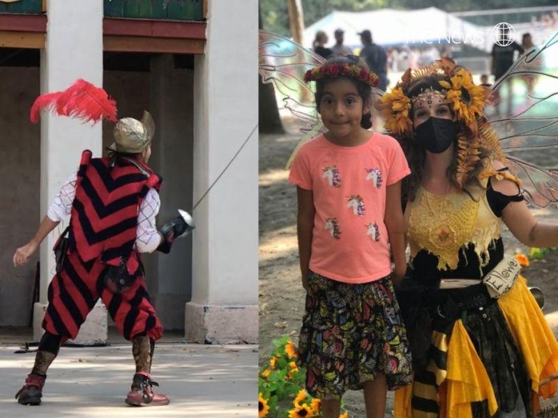 Doncellas, piratas, caballeros y sirenas: Viaje en el tiempo al Festival de Renacimiento