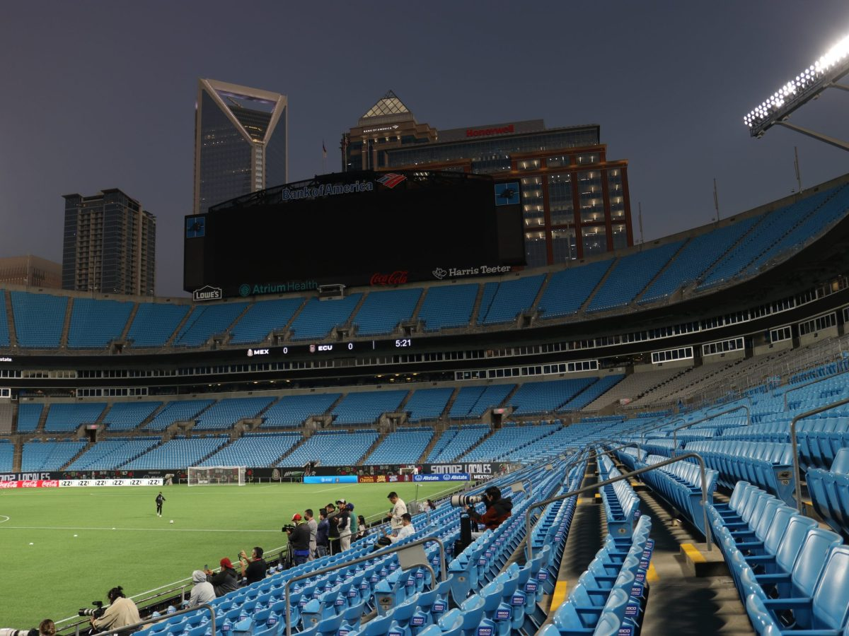 Bank of America Stadium (Foto: Rodrigo Gaudenzi)