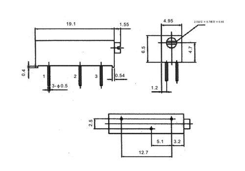 200K Ohm 3006P-204 Potentiometer Trimmer Multi Turn