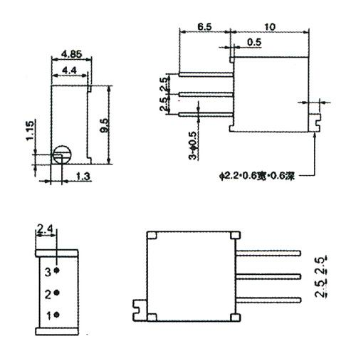 Trim Pot Resistors Diagram : 26 Wiring Diagram Images