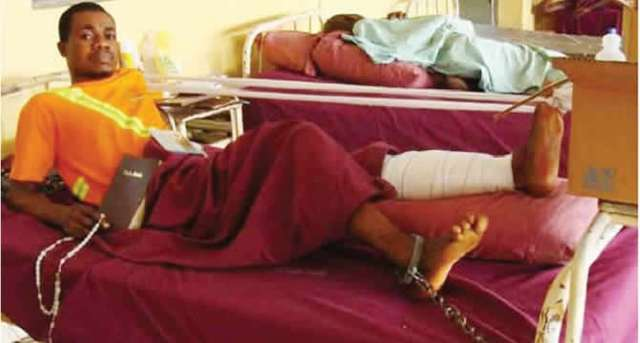 Soldier shot me, police chained me to hospital bed ― Enugu man
