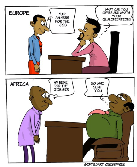Job Application/Interview in Europe Vs Africa | Lanre News