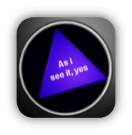 Magic 8 Ball: As I see it, yes