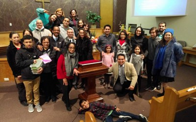 Lansing Spanish SDA Church Members and volunteers from the Lansing SDA Church donate $6000 to help Orphans International Helpline