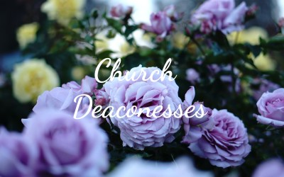 Deaconesses Serve Our Church with Love