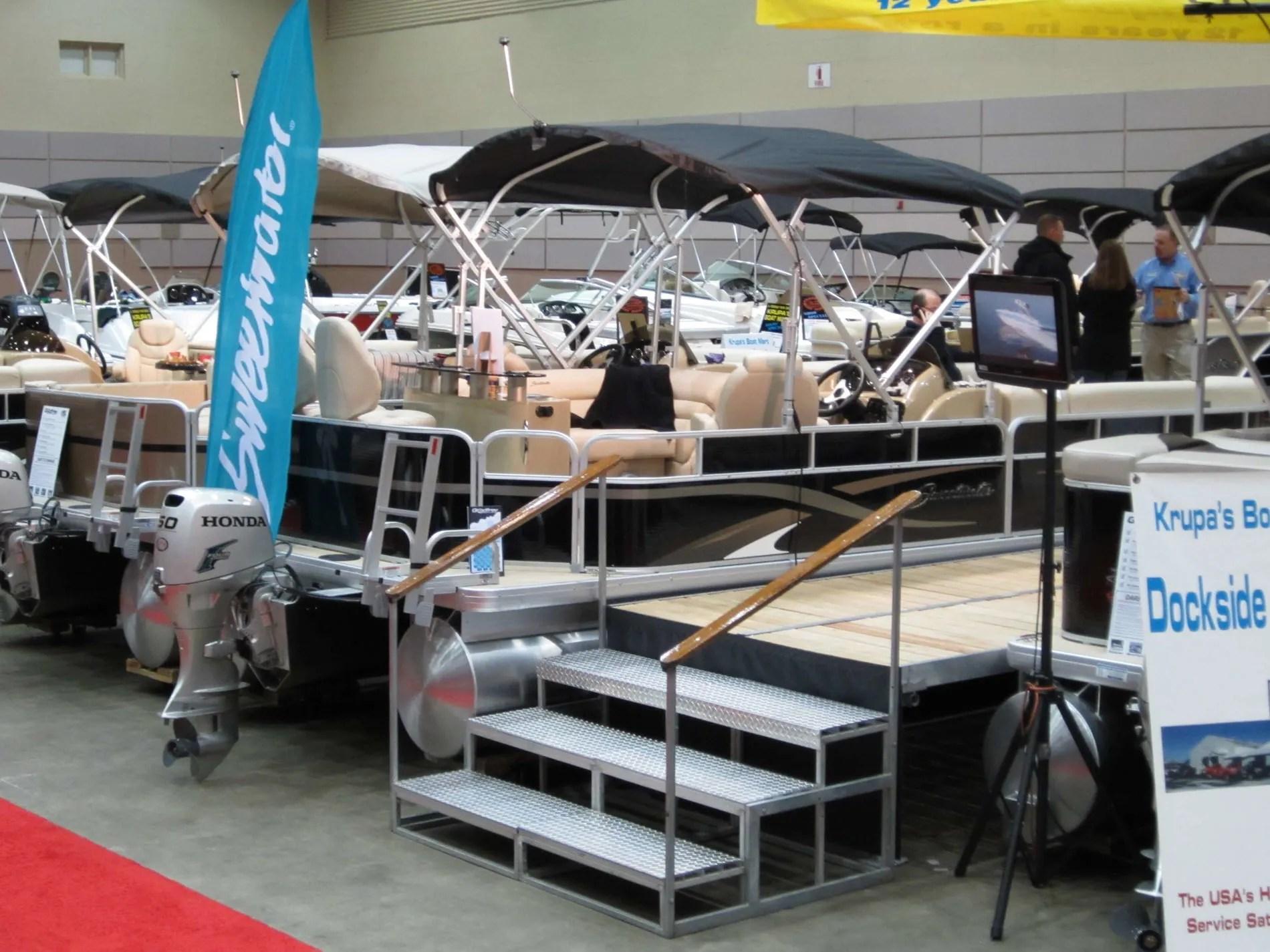Lansing Center Boat Show WLNS