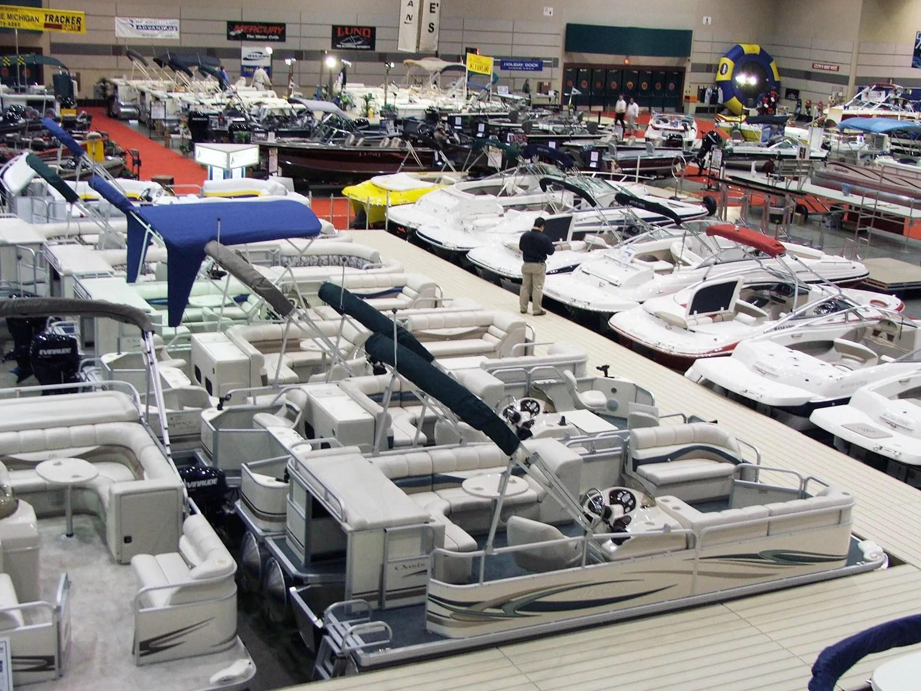 Lansing Boat Show at the Lansing Center