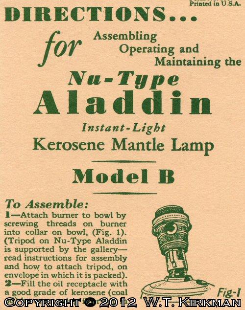 "Lantern Patent /""Illustration Page/"" Archive U.S"