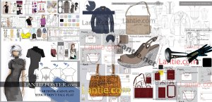 cad flats,freelancer, fashion designer,Lantie,nyc freelancer,dress collection,dress designer, mood board, nyc designer, technical cad flats, theme ideas, dress collection,vector drawings