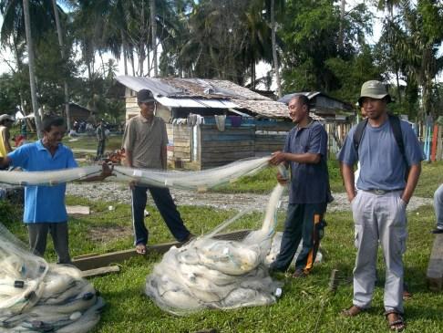 Cross check bantuan alat tangkap ke nelayan