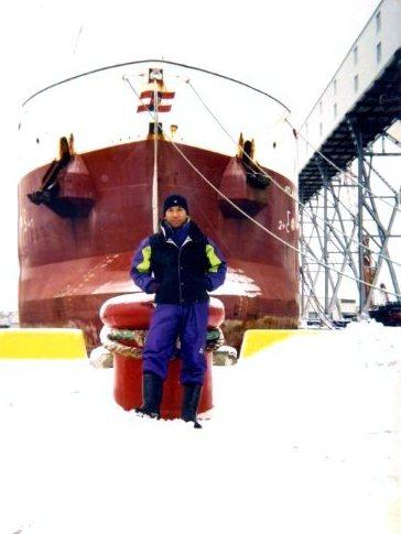 Haluan kapal MV Isabel