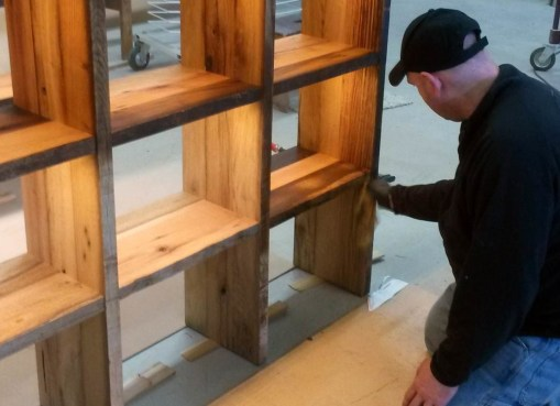 Reclaimed-Barn_Finishing-the-shelves