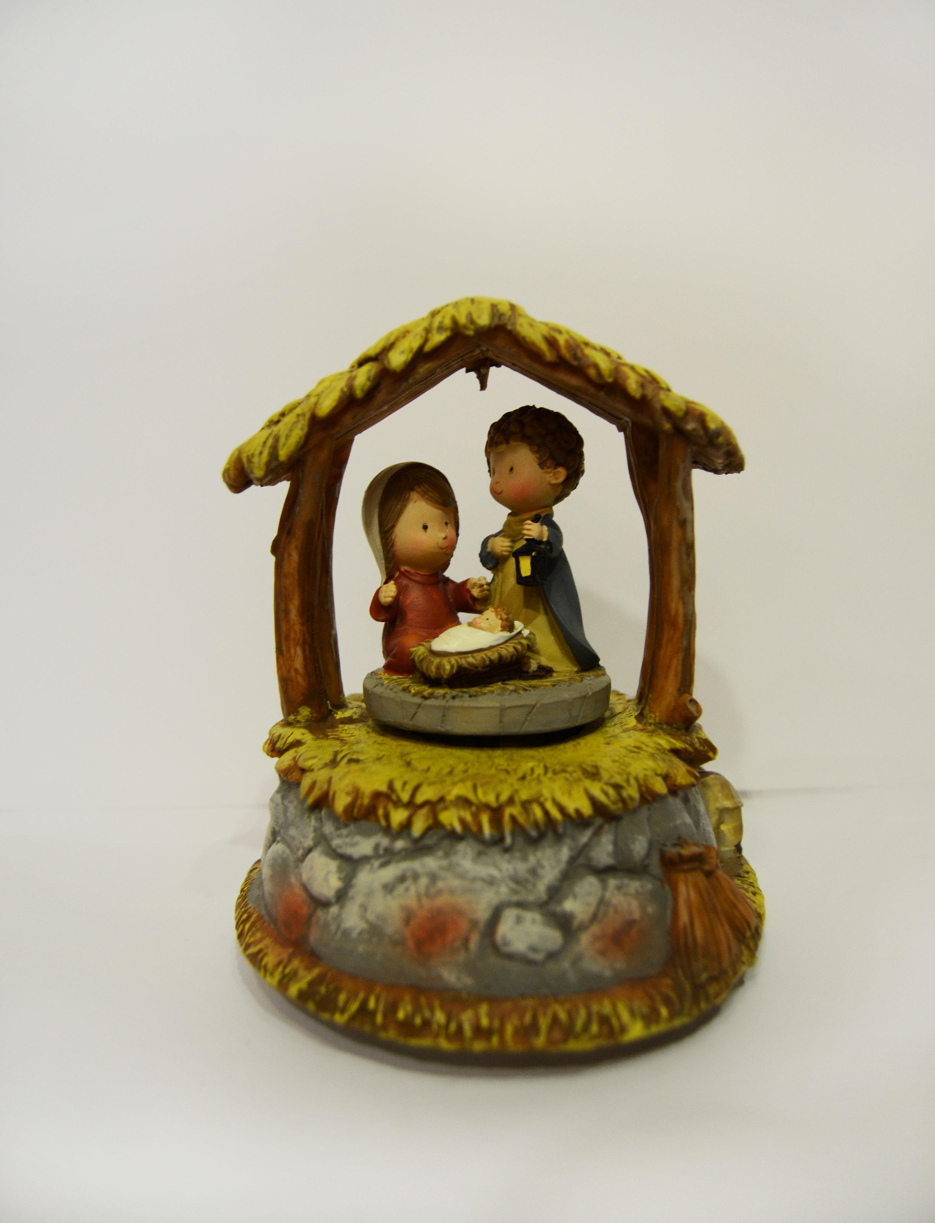 nacimiento navidad misterio miniatura