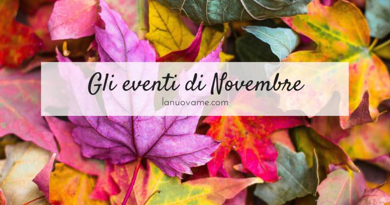 Novembre 2017: eventi e corsi al femminile