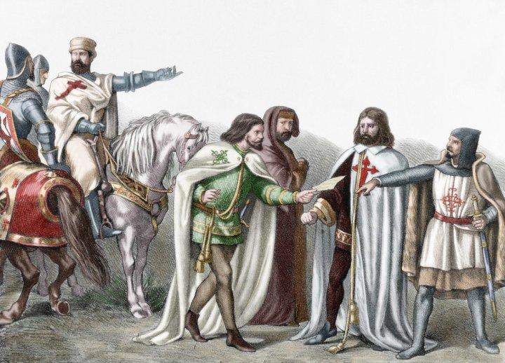 I Cavalieri Templari, il Priorato di Sion e la volontà di riportare al potere i Merovingi, creando nuovamente l'Impero di Oriente e di Occidente