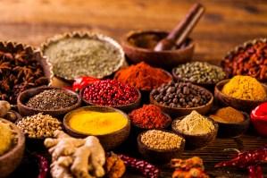 Asian seasoning, spices theme