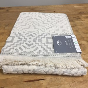 Organic Cotton and Linen Towel Faro