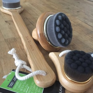 Bamboo Charcoal Back Brush