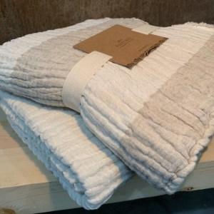 Crinkle Linen Cotton Throw