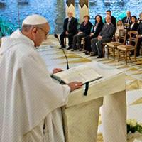 Síntesis de las homilías del Papa Francisco en las Misas que celebra todas las mañanas en la Capilla de la Casa de Santa Marta.