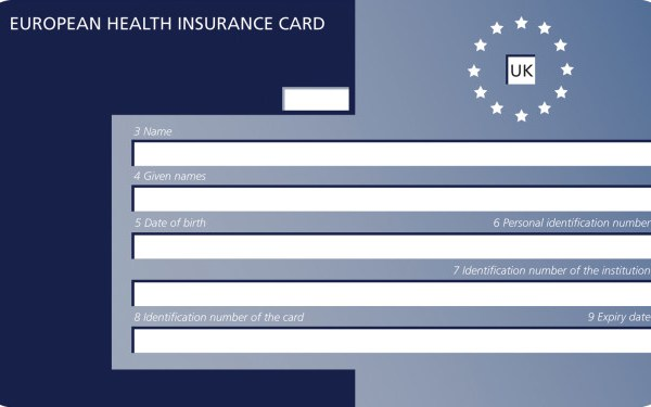 European Health Cards