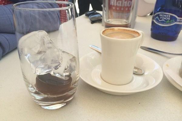 Cafe con hielo coffee