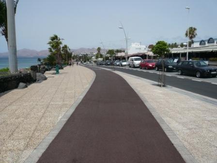 Promenade walk, Puerto del Carmen