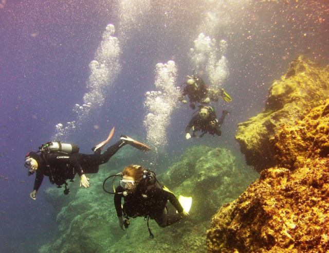 Diving with Island Watersports in Lanzarote