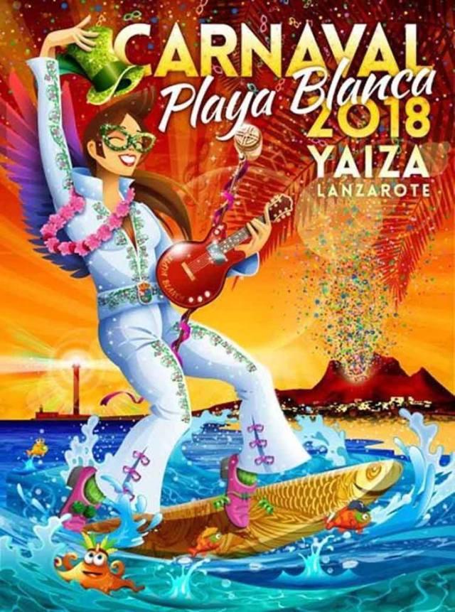 Carnival Poster Playa Blanca 2018