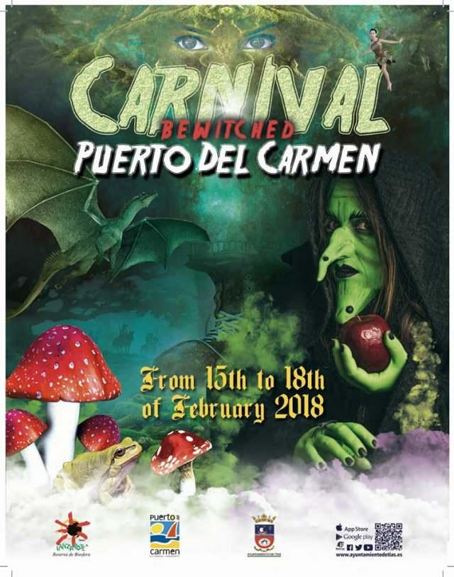 Carnival Poster Puerto del Carmen 2018