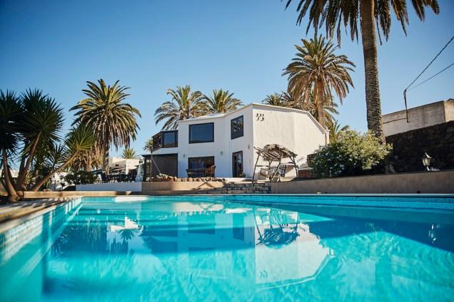 Casita Palmera pool