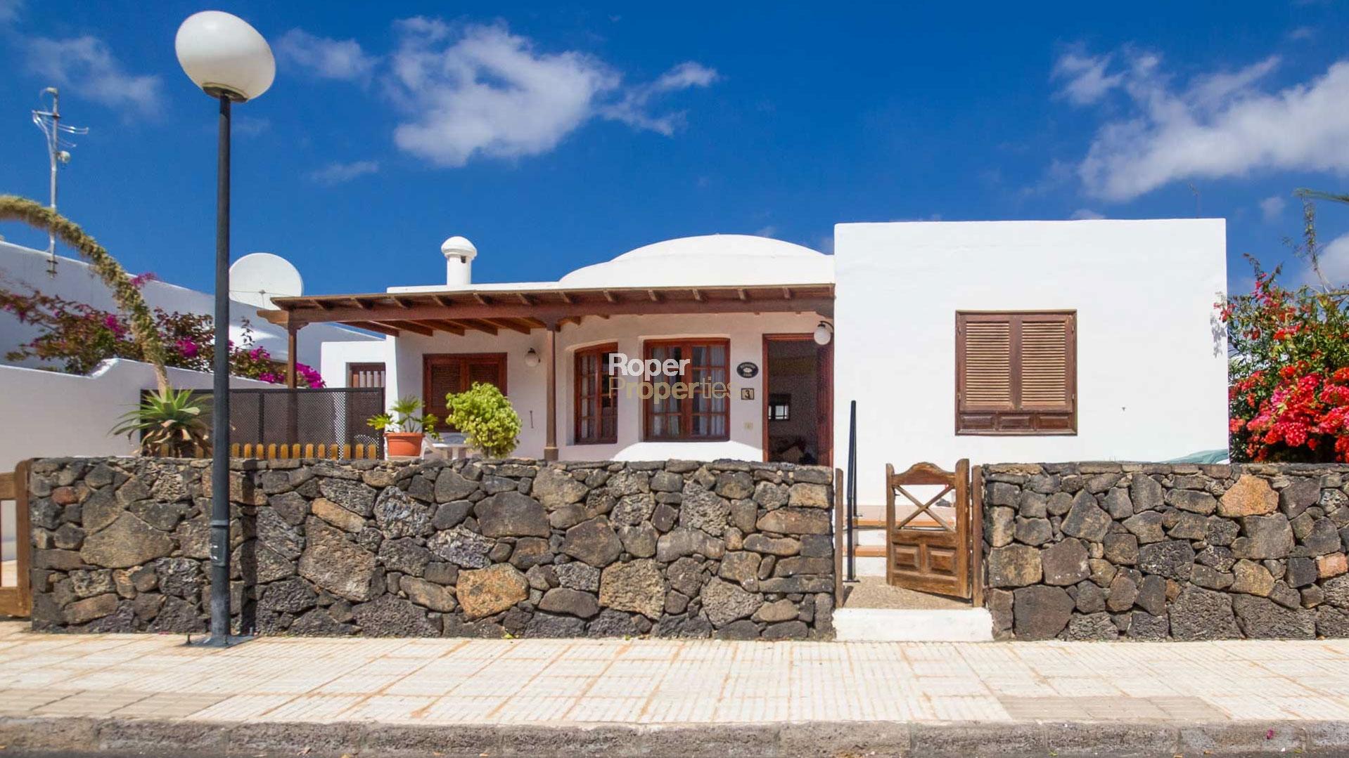 Playa Del Carmen Lanzarote Property For Sale