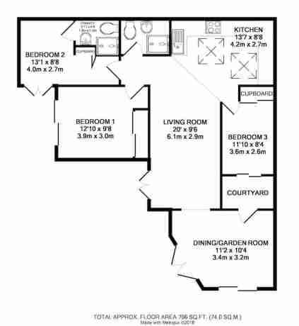 Casa Cat Floorplan