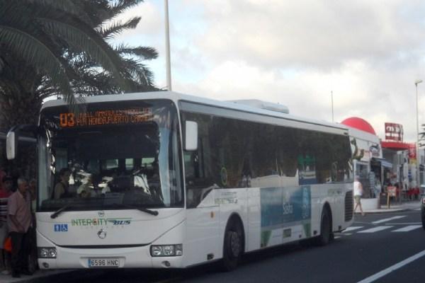 Public transport Lanzarote