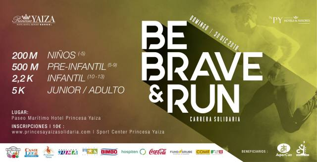 Be brave and run