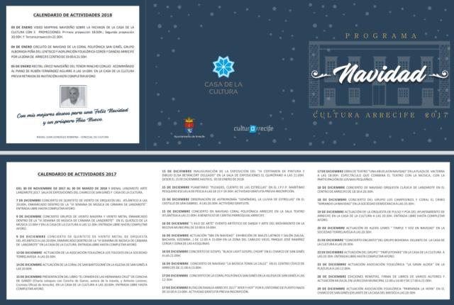 Christmas Programme Arrecife