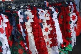 Marina Rubicon Market, canarian tablecloths