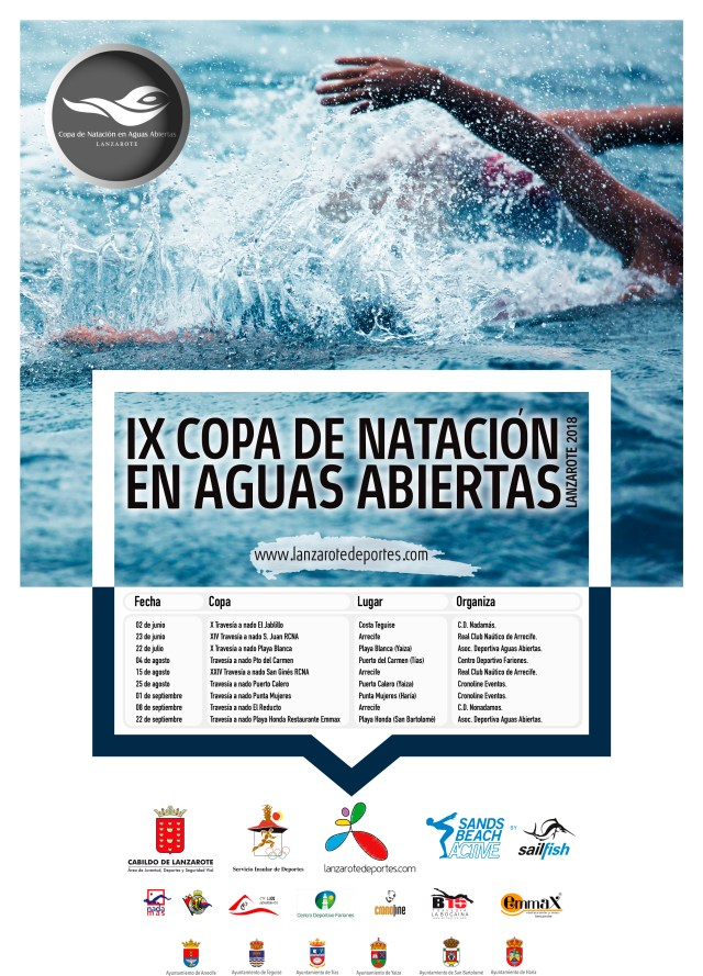 Cop AA Lanzarote Poster 2018
