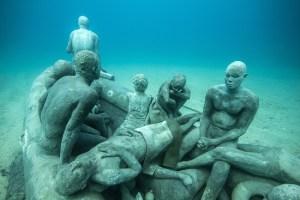 New Underwater Museum in Lanzarote
