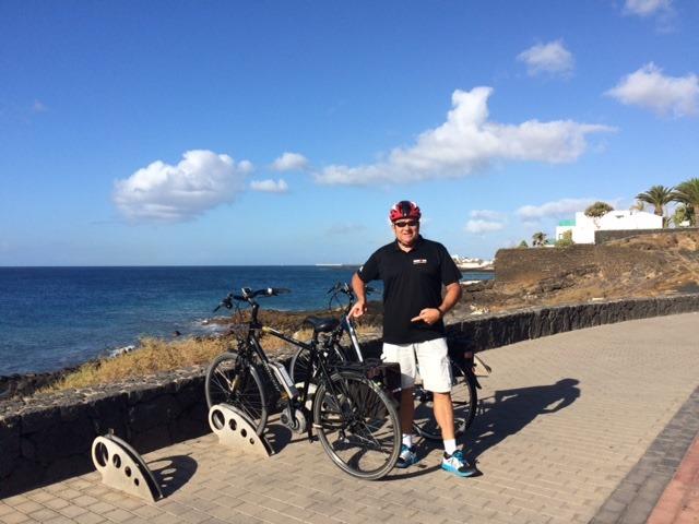 Mike with an E-Bike