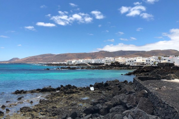 Punta Mujeres, clear waters