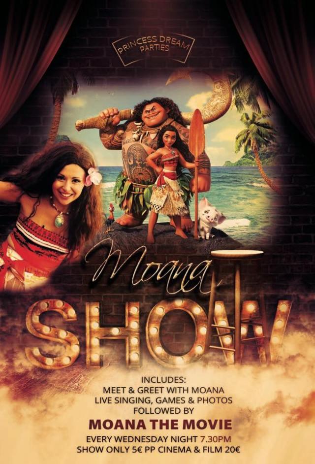 Moana Show Poster