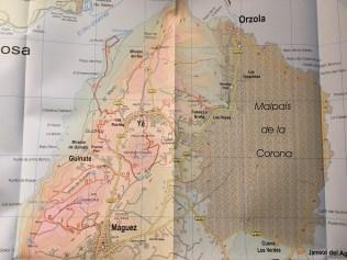 Lanzarote Tour & Trail Map Haría