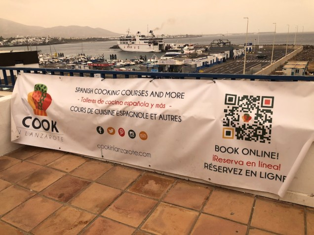 Cook in Lanzarote are sponsors