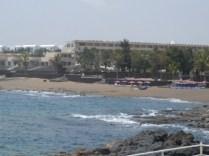 View to Playa Bastian