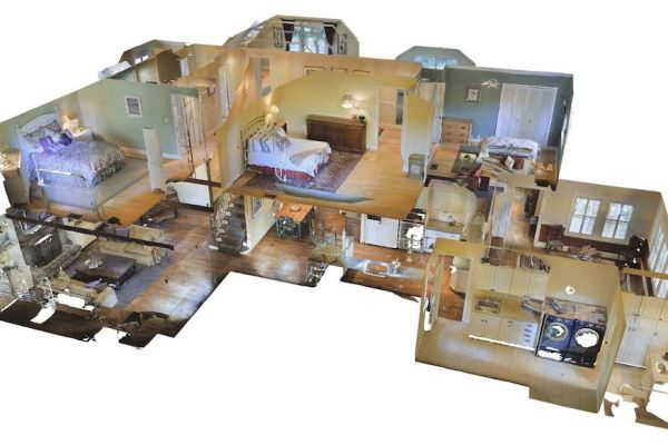 3D virtual property tours